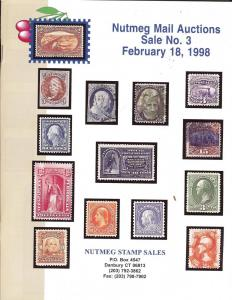 Nutmeg Stamps Sales - United States Stamps and Postal His...