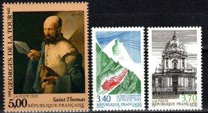 France #2367, 2373-4  MNH CV $5.35 (X285)