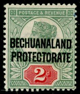 BECHUANALAND SG62, 2d grey-green & carmine, M MINT. Cat £14.