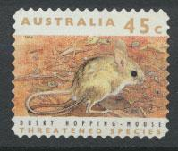 Australia SG 1329p  Used perf 11½ phospher band -Threatened Species - Hoppin...