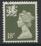 Great Britain Wales  SG W47 SC# WMMH33 Used  see details phosphorised paper
