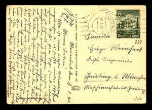 Germany 1941 Real Photo Post Card / Small Top Tear / Used - L7847