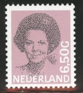Netherlands Scott 630 MNH** 6.50G Queen Beatrix stamp