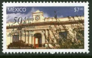 MEXICO 2360, University of Chihuahua 50th Anniversary. MINT, NH. F-VF.