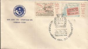 J) 1965 CUBA-CARIBE, FIRST POSTAL MARKS BICENTENARY OF THE ESTABLISHMENT