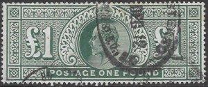 Great Britain 142 Used - Edward VII