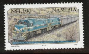 Nambia Scott 777 Mint No Gum key Locomotive stamp 1995