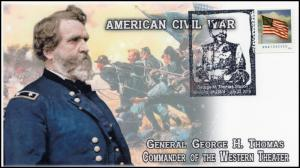 2016, George H Thomas, Civil War, General, Pictorial, Newsoms VA, 16-335