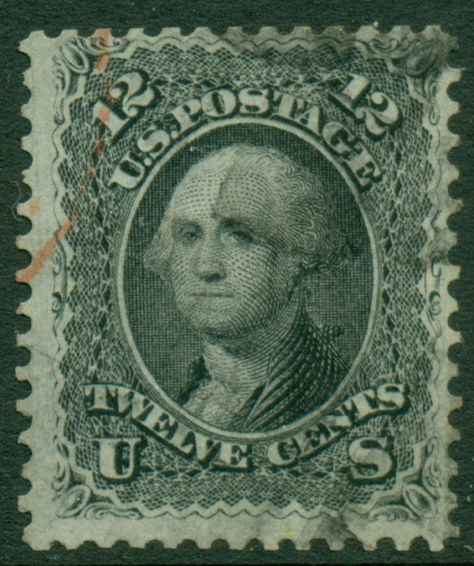 #69 F-VF W/ RED CANCEL CV $135 BL8369