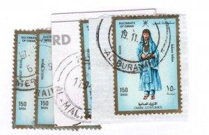 Oman #325 Used - Stamp CAT VALUE $2.75ea RANDOM PICK