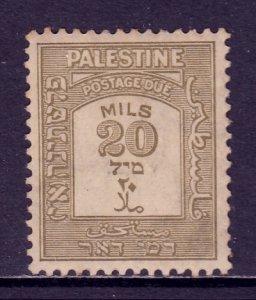 Palestine - Scott #J19 - MH - Toning - SCV $4.50