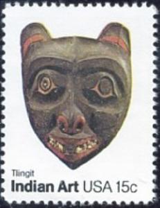 1836 Indian Mask F-VF MNH single