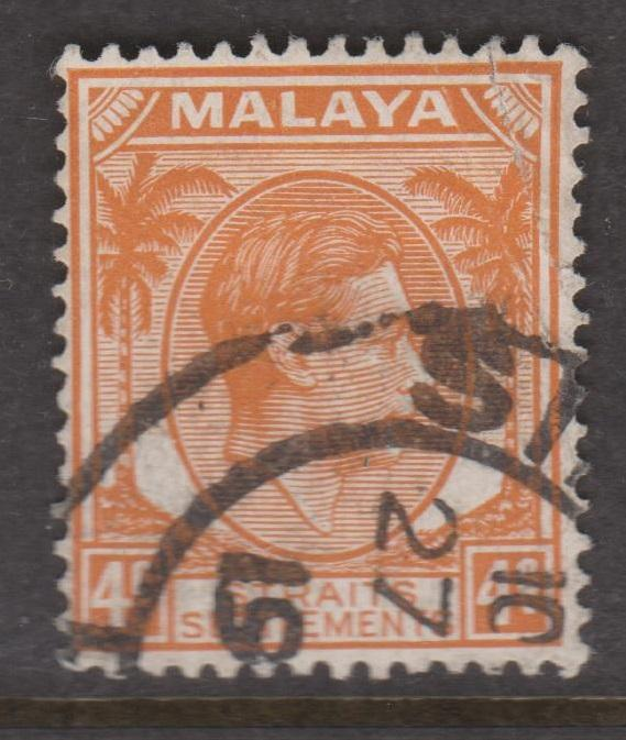 Straits Settlements Sc#240a Used