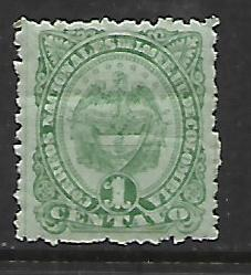 COLOMBIA, 129,  MINT HINGED, REPUBLIC OF COLOMBIA
