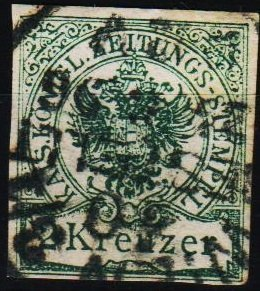 Austria. 1890 2k  S.G.J77 Fine Used