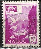 French Morocco 1952: Sc. # 271; O/Used Single Stamp