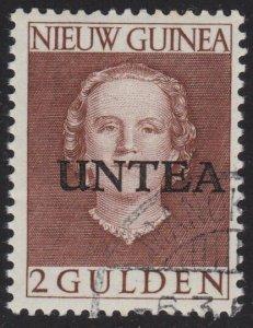 NETHERLANDS NEW GUINEA 1962 2g UNTEA overprint fine used....................2413