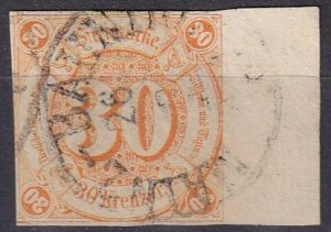 Thurn & Taxis #52  F-VF Used  CV $475.00  (Z6925)
