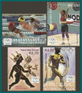 Papua New Guinea MNH 1132-5 Olympic Games 2004 SCV 10.50