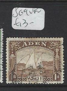 ADEN (P0204B)  DHOW, BOAT  1R  SG 9   VFU