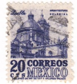 Mexico, Scott # 860(1), Used