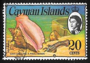[7073] Cayman Islands # 341 Used