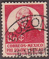 Mexico RA15 Hinged Used 1941 Miguel Hidalgo y Costilla