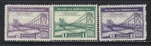 DOMINICAN REPUBLIC 289-91 MOG BRIDGE W113