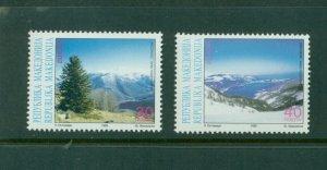 Macedonia  #158-59  (1999 Europa issue) VFMNH CV $6.00