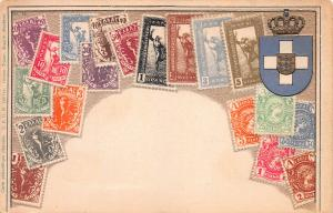 Greece, Embossed Stamp Card, Published by Ottmar Zieher, Circa 1905-10, Unused