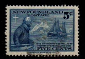 Newfoundland - #252 Sir Wilfred Grenfell - Used