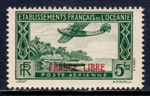 French Polynesia - Scott #C2 - MNH - Gum bumps - SCV $7.25