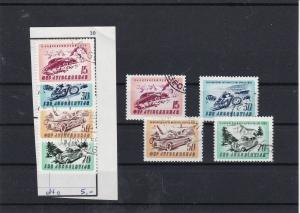 Yugoslavia Adriatic Car + Motorcycle Rally Stamps Ref 30632