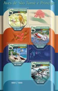 SAO TOME E PRINCIPE 2015 SHEET BIRDS st15506a