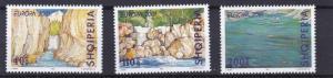 ALBANIA     2001  EUROPA  SET   WATER RESOURCES     MNH