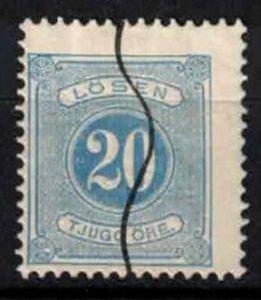 Sweden - SGD32ba - 20 ö Postage due perf.13 - CV 5.75£