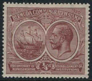 Bermuda #55*  CV $4.00