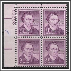 US Plate Block #1052 Patrick Henry Liberty Series MNH