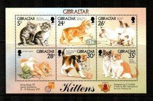 Gibraltar #726  MNH  Scott $7.75   Sheet of 6