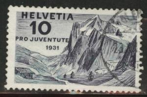 Switzerland Scott B58 used 1931 semipostal stamp
