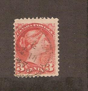 CANADA #37b STAMP USED  LOT#277