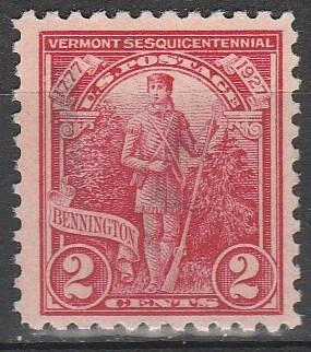 US #643 F-VF Used (S2863)