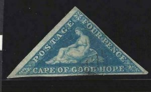 Cape of Good Hope 1855-1858 SC 4 Used SCV $85.00