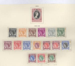 Malaya Penang 27-44 Mint VF NH (27 H)