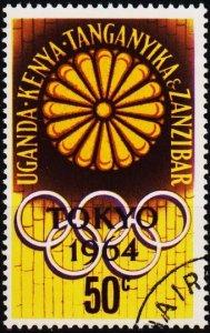 K.U.T. 1964 50c S.G.208 Fine Used