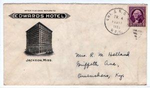 US Hotel Advertising, RPO, Edwards Hotel, Jackson, MS   ... 7550269