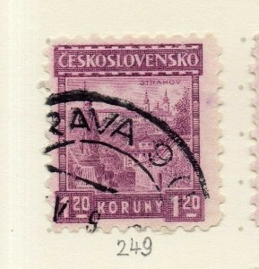 Czechoslovakia 1926-27 Issue Fine Used 1.20k. NW-148597