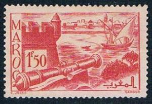 French Morocco 168A MLH Ramparts 1939 (F0124)+