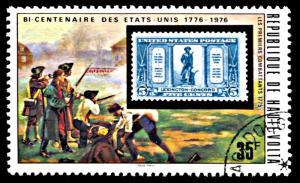 Upper Volta 352, CTO, United States Bicentennial