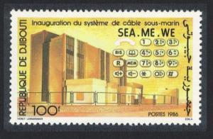 Djibouti Inauguration of Sea-Me-We Submarine Communications Cable 1v SG#985